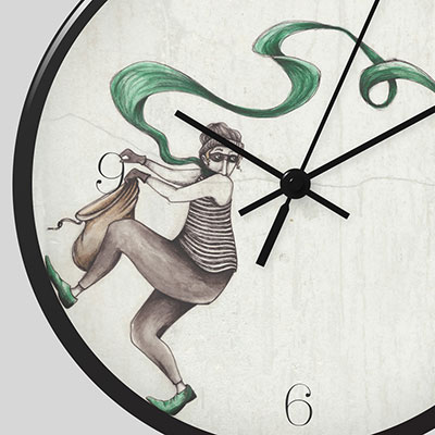 Wall Clock Illustration