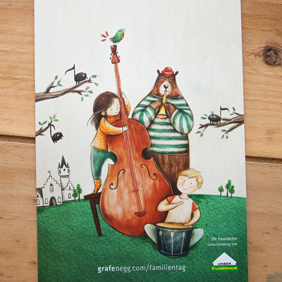 Family Day Grafenegg - Kid's Illustration - Music for Children